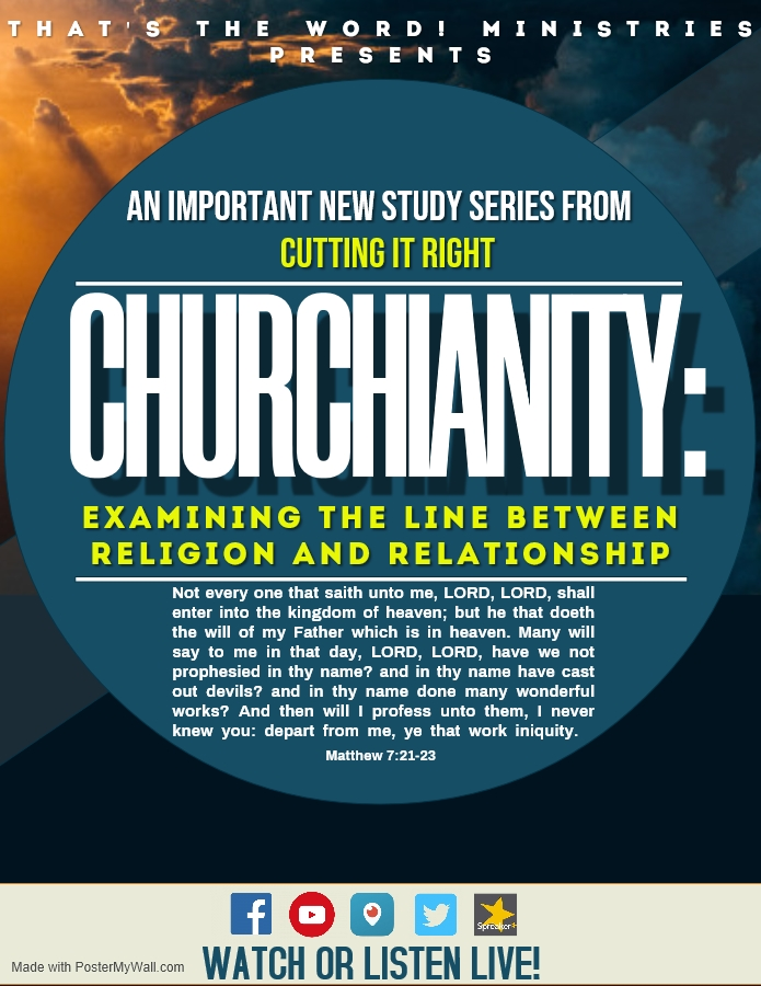 CHURCHIANITY FLYER